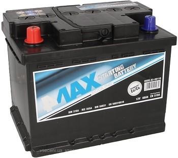 Аккумулятор 4Max на 60 А/ч 12B (0608030011Q)