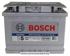 Аккумулятор 12В 60А/ч Bosch -  0 092 S5E 050