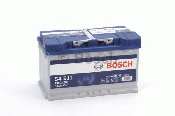 Аккумулятор 12В 80А/ч Bosch -  0 092 S4E 110