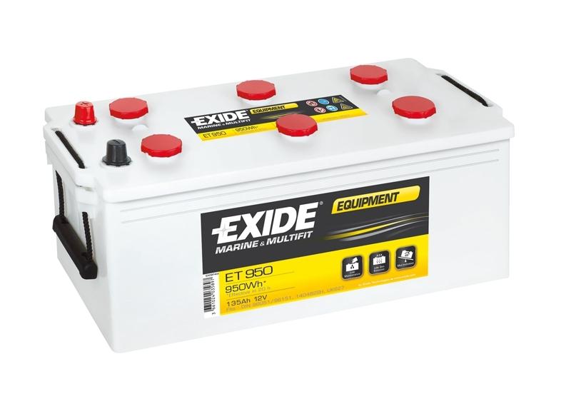 Аккумулятор Exide  12В 135А/ч