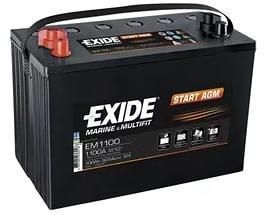Аккумулятор Exide  12В 100А/ч