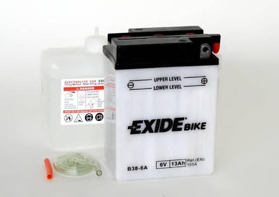 Аккумулятор Exide  6в 13а/ч