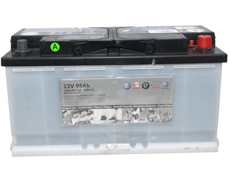 Аккумулятор Vag, 12В 95А/ч