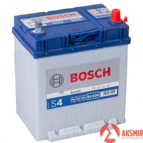 Аккумулятор 12В 40А/ч Bosch -0092S40300