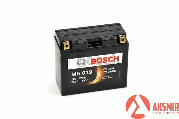 Аккумулятор 12В 12А/ч Bosch -0092M60190