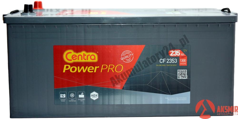 Аккумулятор Centra 12В 235А/ч