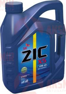 Моторное масло ZIC X5 10W-40 Diesel 6л.