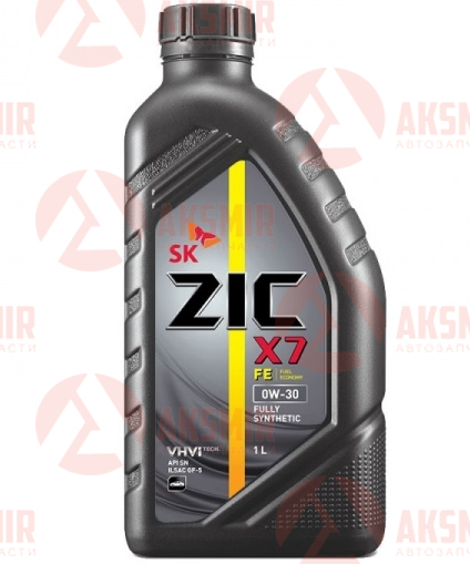 Моторное масло ZIC  X7 FE 0W-30 1л.