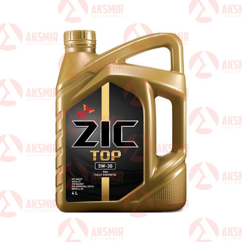 Моторное масло ZIC TOP 5W-30 4л.