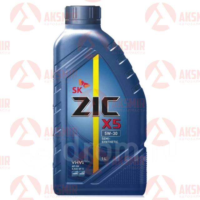 Моторное масло ZIC X5 5W-30 1л.