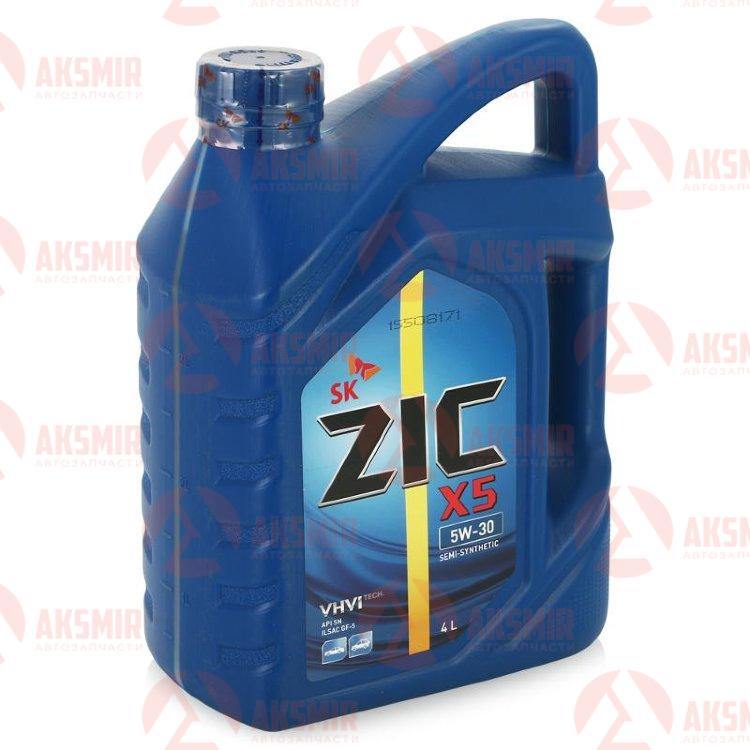 Моторное масло ZIC X5 5W-30 4л.