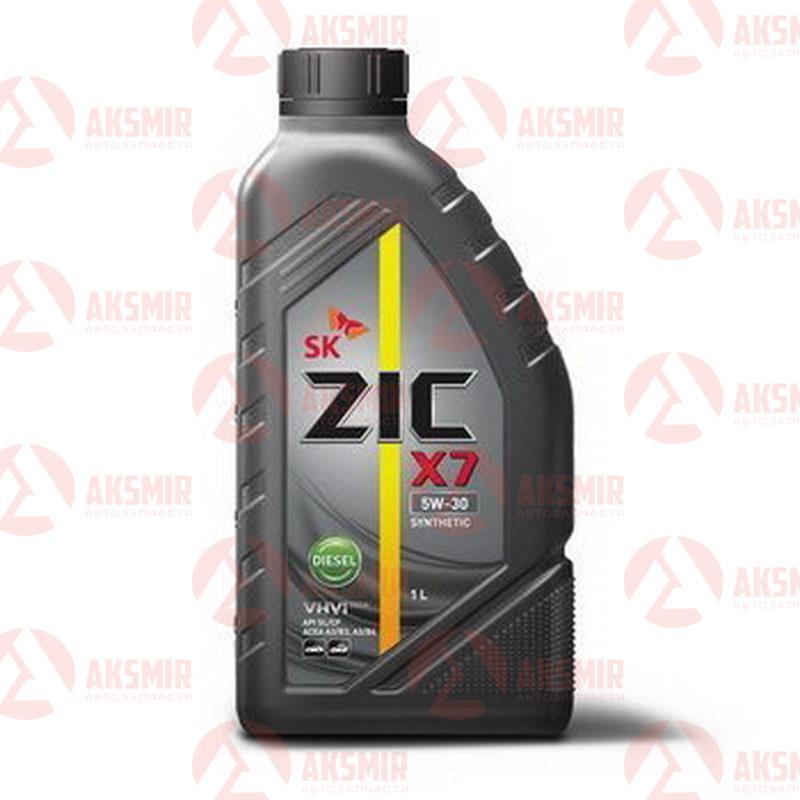 Моторное масло ZIC X7 5W-30 Diesel 1л.