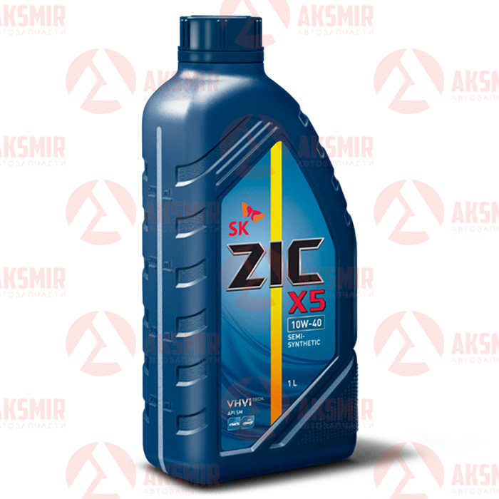 Моторное масло ZIC X5 10W-40 1л.