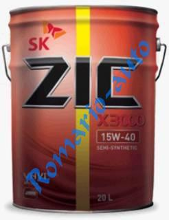 Моторное масло ZIC X3000 15W-40 20л.
