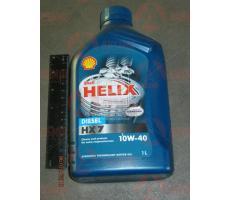 Моторное масло SHELL Helix Diesel HX7 SAE 10W-40 CF 1л.