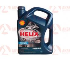 Моторное масло SHELL Helix Diesel HX7 SAE 10W-40 CF 4л.