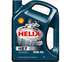 Моторное масло SHELL Helix HX7 SAE 10W-40 4л.