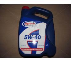 Моторное масло Агринол PREMIUM 5W-40 SL/CF 4л.